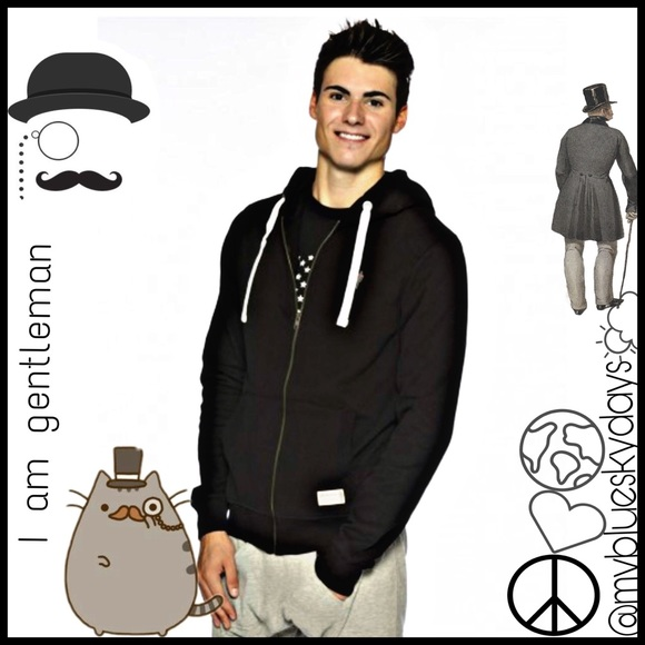 I Am Gentleman Hoodie F F  Last One F F   Boutique Peace Love World